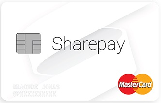 Carte MasterCard Sharepay