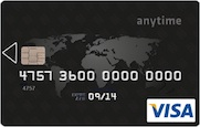 Carte Visa Anytime Black
