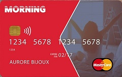 Carte Morning MasterCard