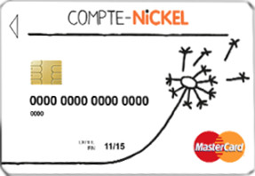 Carte Nickel Mastercard