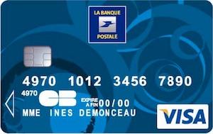 Carte Visa LBP