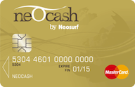 Neocash Gold Mastercard