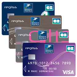 Carte Visa Regliss