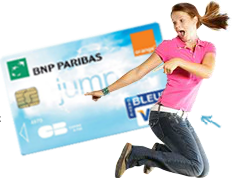 Carte Jump de BNP Paribas-Orange